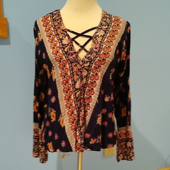 Angie Tops - ANGIE Boho Top